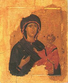 Богоматерь Одигитрия. Византия. Первая четверть XV века