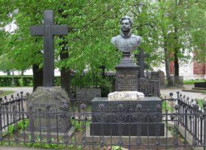 Некрополь Новодевичьего монастыря