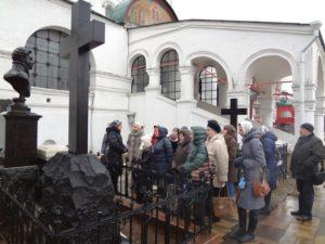 Расписание мероприятий в марте 2017 года в Новодевичьем монастыре
