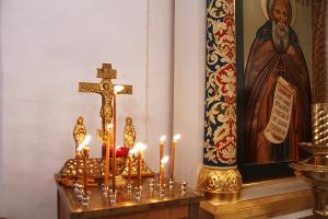 Служба в Новодевичьем монастыре
